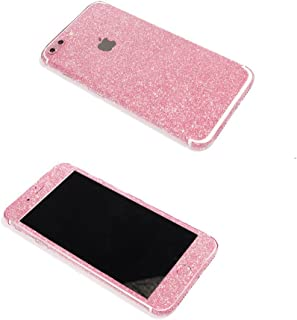 iPhone 7 Plus Bling Skin Sticker, Supstar Full Body Coverage Glitter Vinyl Decal - Dustproof, Anti-Scratch for Apple iPhone 7 Plus (Rose)