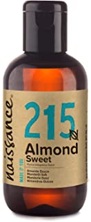 Naissance Sweet Almond Oil 3.4 fl oz - Pure & Natural, Food Grade, Vegan, Non GMO, Hexane Free, Cruelty Free - Ideal for H...