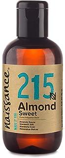 Naissance Aceite de Almendras Dulces n. º 215-100ml - 100% natural para humectar y equilibrar la piel, hidratar el cabello y todo el cuerpo.