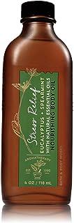 Bath & Body Works STRESS RELIEF - EUCALYPTUS & SPEARMINT Nourishing Body Oil- 118ml