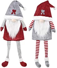 2 Pcs Christmas Decorations Faceless Doll Tree Top Star Ornaments Hanging Christmas Tree Ornaments