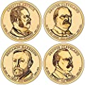 2012 P Presidential Dollar 2012 P Presidential Dollar 4-Coin P Mint Uncirculated Uncirculated