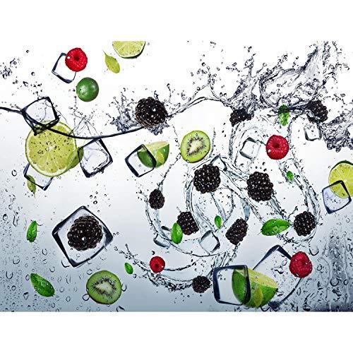Fototapete Küche Obst - Vlies Wand Tapete Wohnzimmer Schlafzimmer Büro Flur Dekoration Wandbilder XXL Moderne Wanddeko - 100% MADE IN GERMANY - 9254010b