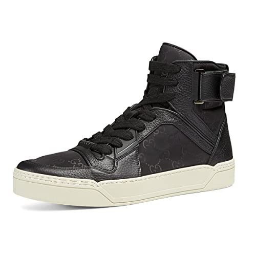 1195276f448f Gucci Men s Nylon Guccissima High-Top Sneaker