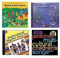 Becker's Exclusive Kits SICD45045K World Rhythms CD Set (Pack of 4) [並行輸入品]