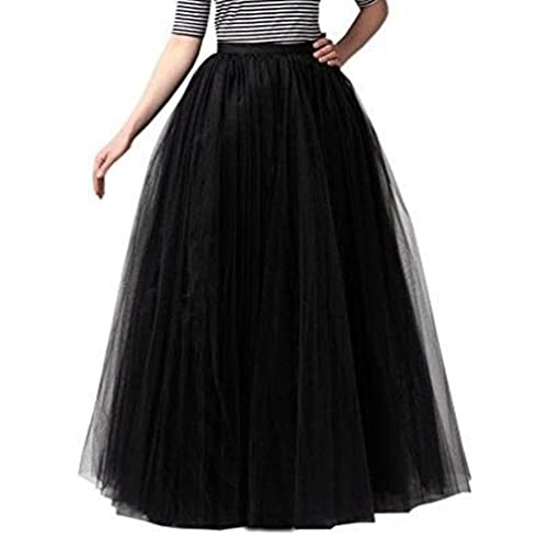 a40f12d7aa8 928 - Plus Size Long Maxi A-Line Tutu Tulle Wedding Skirt