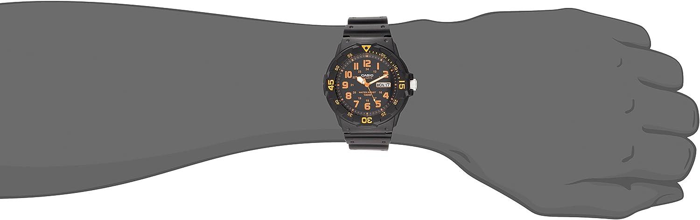 Casio Unisex MRW200H-4BV Neo-Display Black Watch