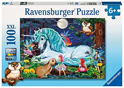 Ravensburger Kinderpuzzle 10793 - Im Zauberwald - 100 Teile