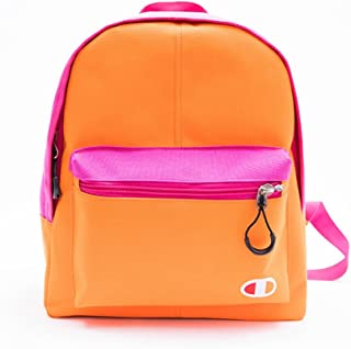 Leng QL Personality Backpacks Leisure Travel Parent-Child Backpack Children's Schoolbag(Small Size,Orange)