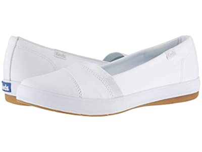 Keds Carmel Twill (White) Women