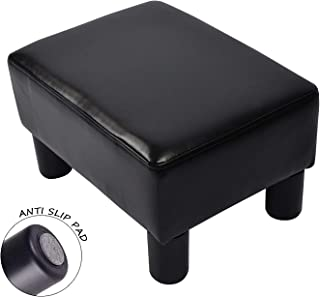 Miraculous Amazon Com Black Ottomans Accent Furniture Home Kitchen Gmtry Best Dining Table And Chair Ideas Images Gmtryco