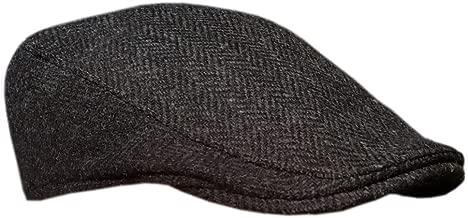Irish Ivy Cap, 100% Pure Irish Wool, Made in Ireland, Dark Gray