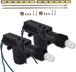 runmade Universal High Car Power Heavy Duty High Power Door Lock Actuator 12V (2 Pack, Black)