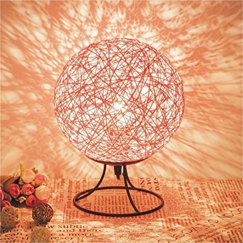 Eenvoudige Nachtlamp Romantische Tafellamp Led Groot Roze