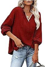 Women Hoodies Pullover Hoodie Sweatshirt Hoodies Top Blouse Trainingspakken Lange mouw Herfst Winter Casual(Color:style2,S...