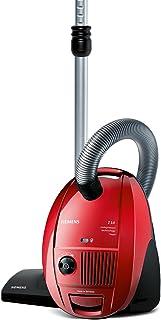 Siemens VSZ31456 - Aspiradora (tecnolog?a de compresi?n, incluye accesorios), color rojo