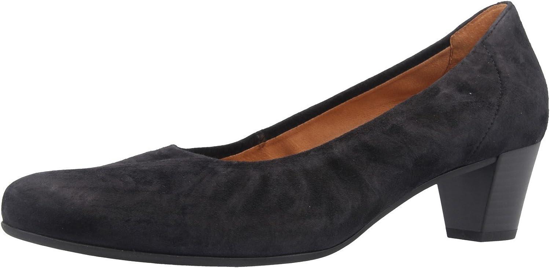 Gabor Comfort - Damen Pumps - Blau Schuhe in übergren