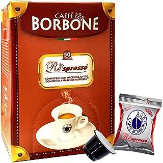 50 Capsule Borbone REspresso Miscela ROSSA Compatibili Nespresso*