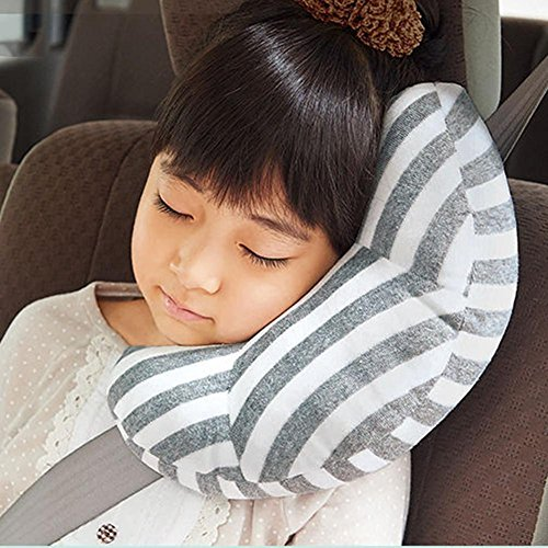 Auto Gurtpolster Gürtel Kissen Universal Seat Gürtel Kissen Kindersitz Polster Gurtpolster Grau
