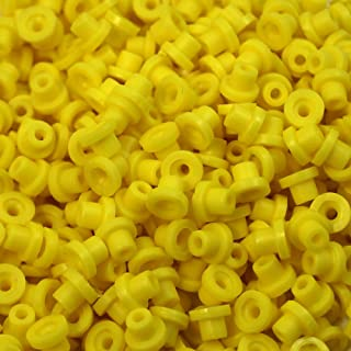 ITATOO 200PCs Soft Rubber Tattoo Grommets Nipples for Tattoo Needles and Armature Bar Yellow N201087F
