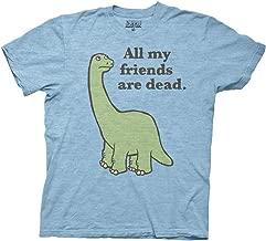 Ripple Junction All My Friends are Dead Dinosaur Adult T-Shirt