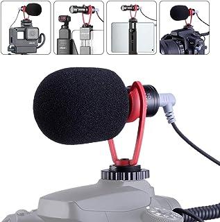 SAIREN - Micrófono de vídeo Vlog accesorios para Sony RX100 VII A7 III/Canon/Fujifilm cámara DSLR para smartphone DJI Osmo Mobile 3 micrófono de escopeta