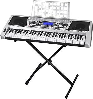AW 61 Key Electronic Keyboard Piano Organ Music Electric LCD
