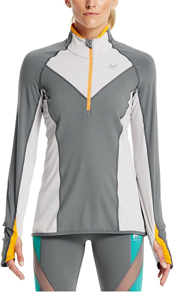 excellence Mission Women's VaporActive Stamina Lightweight Courier shipping free 1 Zip Sle Long 4