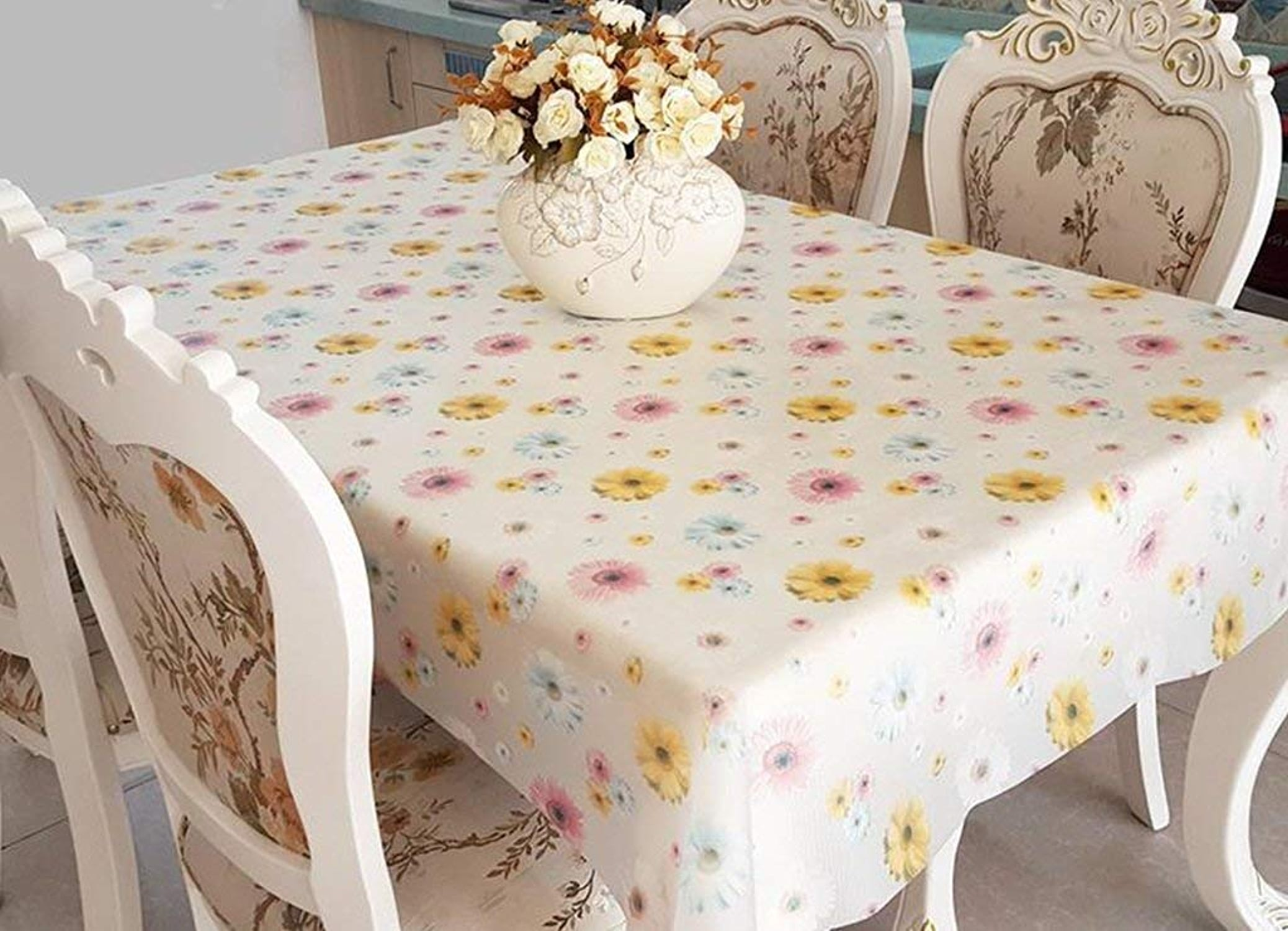 GW WG Table de Salle à Manger de Style européen avec Nappe de Nappe Style tableclotheuropean de Haute qualité Nappe de Nappe respectueuse de l'environneHommest