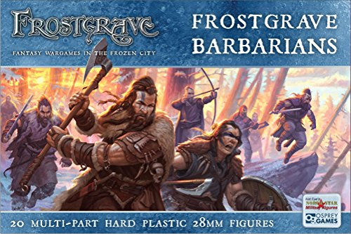 North Star Military Figures Frostgrave Barbarians Plastic Figures 20
