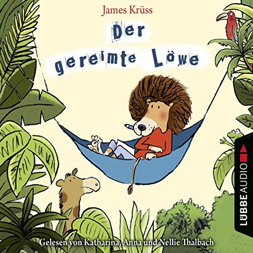 Der gereimte Löwe: Gedichte und Geschichten audiobook cover art