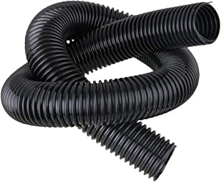 BQLZR 40mm Model 00249 Black Plastic Basic Central Vacuum Hose Accessory Kit Collection Flexible Hose for Industrial Vacuum Cleaners