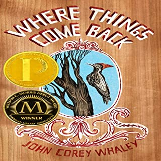 Where Things Come Back cover art