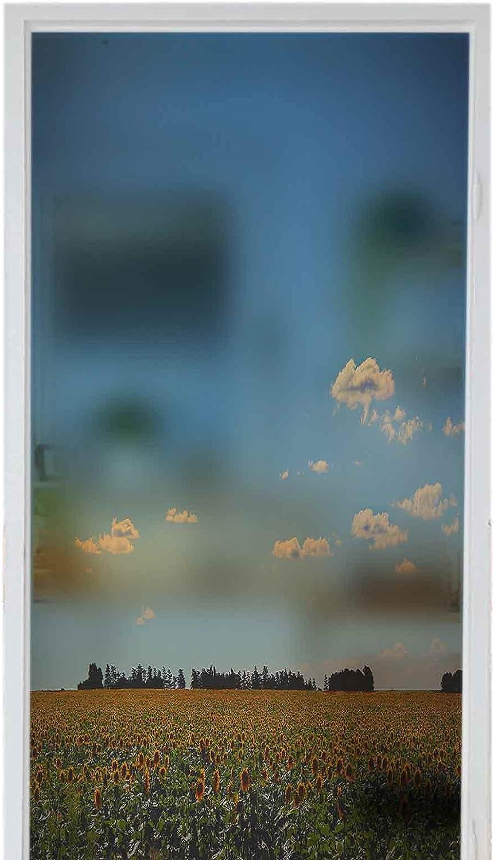 Homesonne Discount is also underway Decorative Glass Sticker Window Sunflowe Privacy Sacramento Mall Films