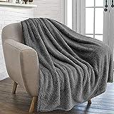furrybaby Premium Fluffy Fleece Dog Blanket, Soft...