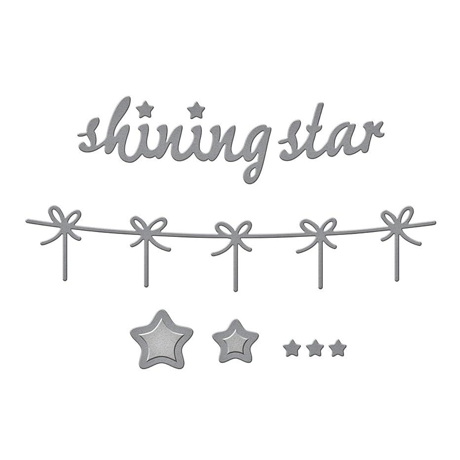 Spellbinders S2-189 Die D-Lites Shinning Star Etched/Wafer Thin Dies