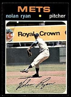 Baseball MLB 1971 Topps #513 Nolan Ryan NM Near Mint Mets
