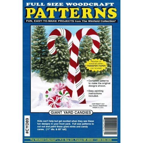 Christmas Wood Patterns For Yard Amazon Com
