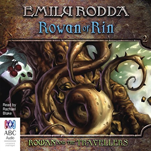 Rowan and the Travellers audiobook cover art