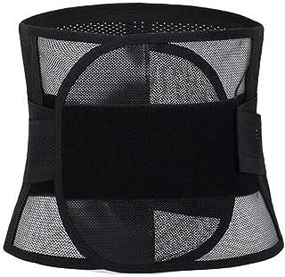 Men's Breathable Waist Tummy Adjustable Trimmer Elastic Slimming Belt Abdomen Control Corset Slimming Shapewear,XL