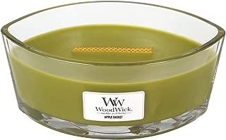 WoodWick Apple Basket Hearthwick Ellipse Candle, 16 oz.