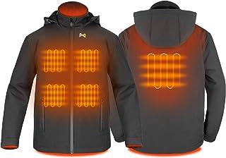 comprar comparacion Chaqueta Térmico Electrico para Hombre y Mujer - Chaleco calefactable recargable por USB - Con cuello térmico, chaqueta cá...