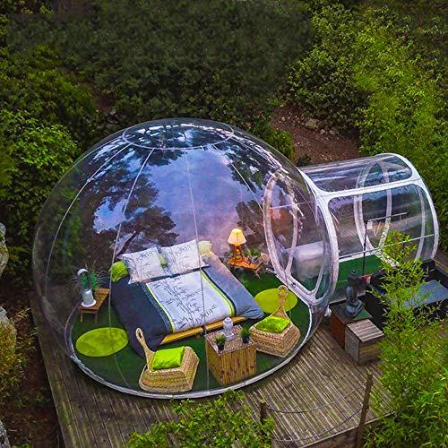 Tienda de Burbujas Inflable para Acampar al Aire Libre Gran