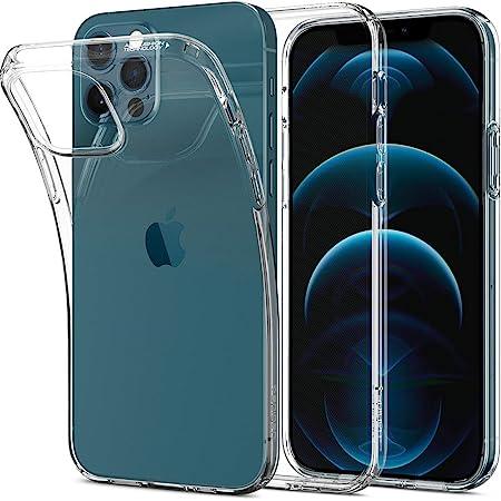 Spigen Cover Liquid Crystal Compatibile con iPhone 12 e Compatibile con iPhone 12 PRO - Trasparente