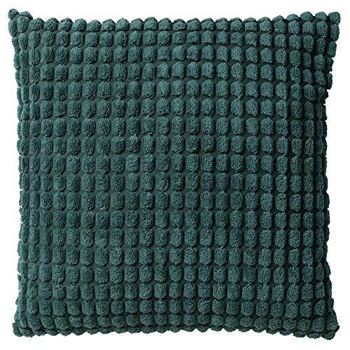 Dutch Decor Dekokissen Grün - Rome 45x45 cm Sagebrush - Zierkissen mit Füllung quadratisch Kissen Polyester