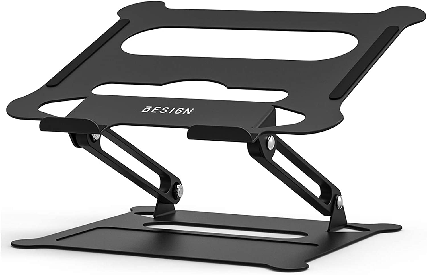 Besign LS05 Aluminum Laptop Stand, Ergonomic Adjustable Notebook Stand, Riser Holder Computer Stand Compatible with Air, Pro, Dell, HP, Lenovo More 10-15.6