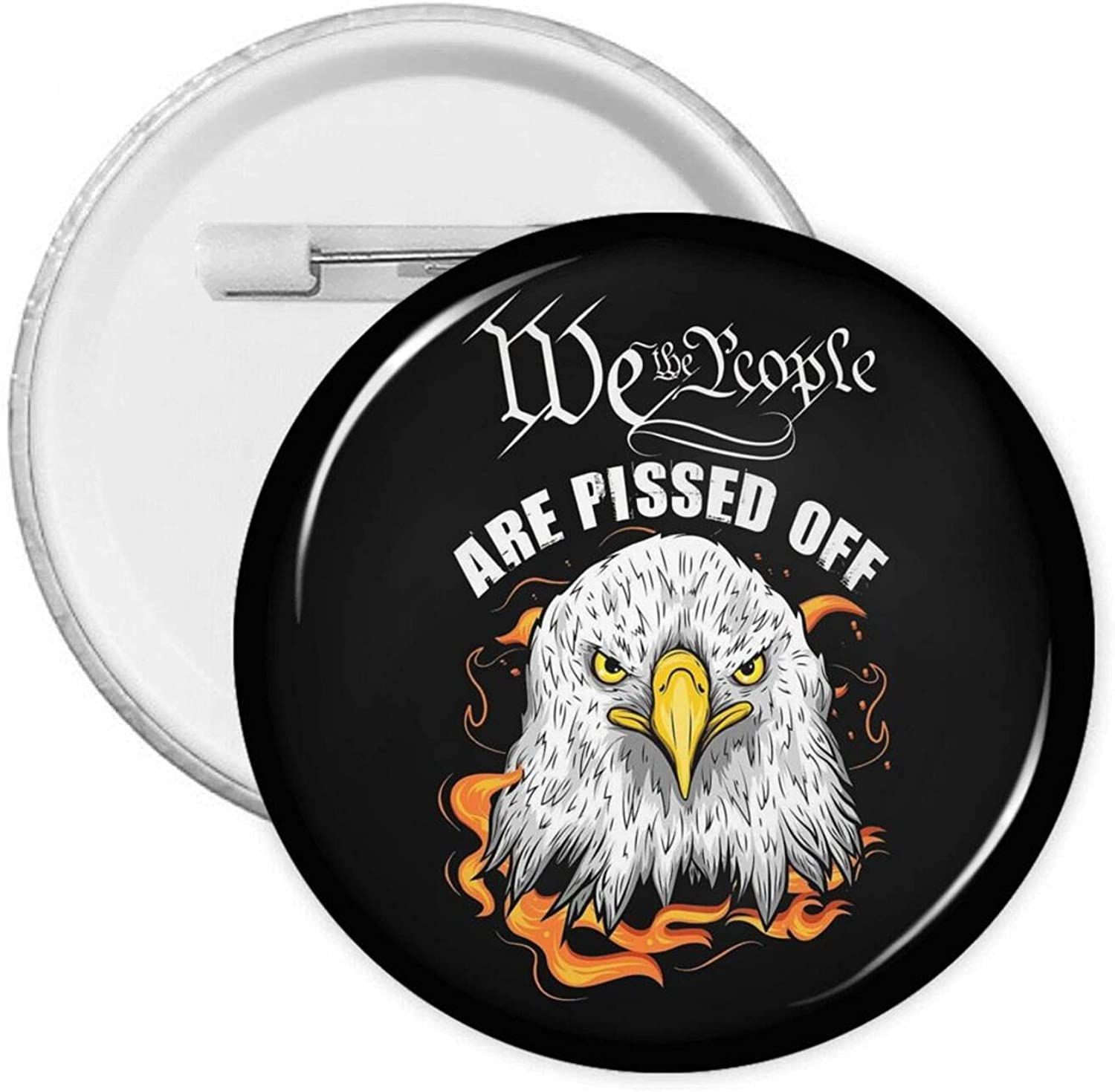 We The People Ranking TOP2 Are Pissed Off Badges Button Houston Mall With Pins Round