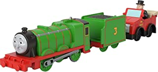 Fisher-Price Thomas & Friends Henry with Winston and Sir Topham Hatt, motorized toy train for preschool kids 3 years and o...