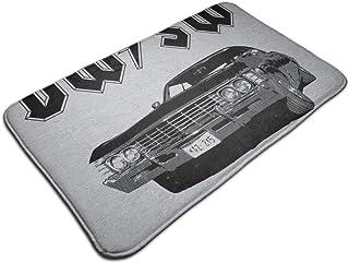 HUTTGIGH Supernatural ACDC - Alfombrilla antideslizante para puerta de entrada, alfombra de baño, alfombra de cocina, 44 x...