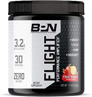 Bare Performance Nutrition, Flight Pre Workout **Original Formula**, Energy, Focus & Endurance, Formulated with Caffeine Anhydrous, Beta Alanine, N-Acetyl Tyrosine (30 Servings, Fruit Punch)